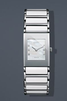 c27d4ba7840 Rado Integral Jubile White Pearl Mini Watch