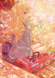 Фото: Konnichiwa minna-san :) Character : Miyazono Kaori Anime : Shigatsu wa Kimi no Uso Manga Anime, Manga Girl, Anime Chibi, Anime Girls, Fanart Manga, Manga Kawaii, Art Anime, Anime Kunst, All Out Anime