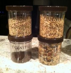 Great reason to eat Talenti gelato. The container can be easily re-purposed to hold dry-goods, snacks, coffee,etc...