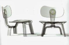 eames plywood chair tribute by karim rashid
