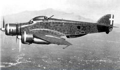 The Savioa Marchetti SM. 79 started life as a very fast airliner. It was of mixed construction.
