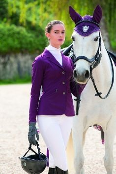 Buy Horseware Lds Competition Jacket Berry | Buy from Horseworld.ie
