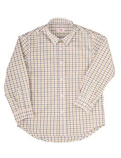Stylish checked shirt for boys from Il Gufo