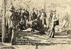 Silan Lewis, a Choctaw convicted of murder, chose his executioner—childhood friend Lyman Pursely. In Wilburton, Indian Territory, on November 4, 1894, Lewis was blindfolded and kneeling on the ground, with two men holding his arms, when Sheriff Pursely fired his Winchester. The lawman missed the heart, though, and Lewis lived for three minutes as the sheriff smothered his old friend to death.