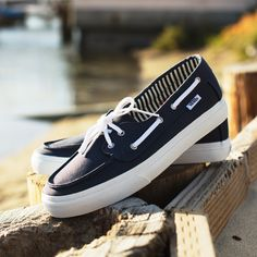 61b1d536470 Sail away in the Vans Surf Chaufette SF. Cool Vans Shoes