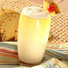 Medifast - Pina Colada Recipe Ingredients  1 Medifast Vanilla Shake 2 tablespoons sugar-free pineapple syrup 1 tablespoon sugar-free coconut syrup ½ cup tropical flavored water ½ cup ice