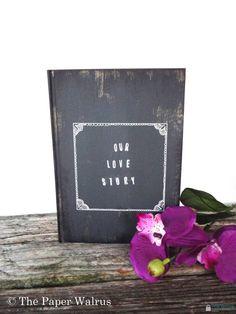 Ring Bearer Pillow Book 5 x 7 Rustic Weddings by ThePaperWalrus