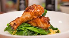 Honey Soy Chicken with Chinese Broccoli recipe - Everyday Gourmet with Justine Schofield