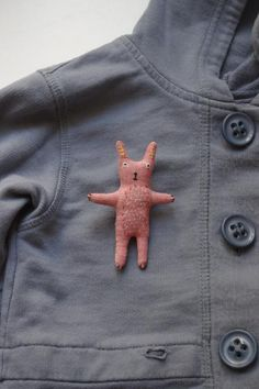 Bunny. Brooch. by adatine