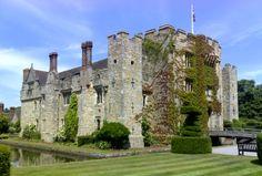 Hever Castle, Kent, England -- the childhood home of Mary Boleyn