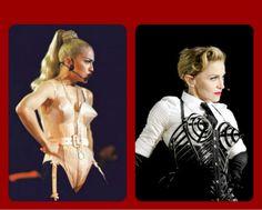 Madonna's Reinvented Cone Bar 22 years later  #BlondAmbitionWorldTour90 #MDNA12
