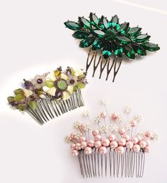 18 Statement Hair Combs | Brooches for your Hair