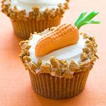 carrot top cupcakes from parents magazine  http://www.parents.com/holiday/easter/recipes/delicious-spring-desserts/?sssdmh=dm17.585671&esrc=nwpce031212&email=507613730