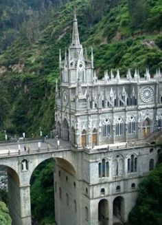 Las Lajas Cathedral, Colombia South America