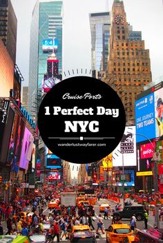 Don't despair if you only have 1 day in New York. Follow this itinerary to make it to all the must-see sites.