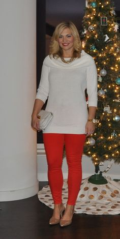 Holiday Outfits denimanddots.com