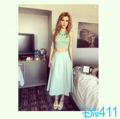 """Clevver TV Talked With Bella Thorne About Working On """"Blended"""""""