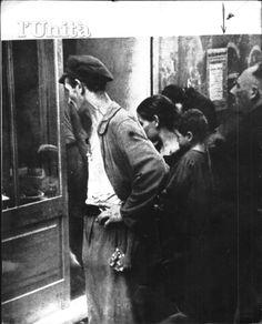 SECONDA GUERRA MONDIALE LA VITA SOTTO LA GUERRA CODE PER IL PANE E L ACQUA CARTE DI RAZIONAMENTO BORSA NERA RIFUGI ANTIAEREI 1940 1945