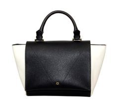 BAG STYLE & INSPIRATION The Bridgette is our classic color block satchel/Cross-body purse. It is sleek, minimalist and practical. The top zipper under the flap keeps your belongings secure and easy to