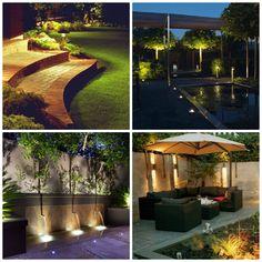 Tuinverlichting - Met mooie tuinverlichting maak je van jouw tuin een plek waar het, ook als het donker is, nog heerlijk is om te vertoeven!