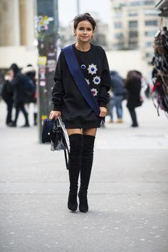 Мирослава Дума Miroslava Duma  Street Style Magic at Couture Fashion Week