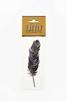 Tattly Feather Temporary Tattoo Pack | Shop Lookbooks at Nasty Gal