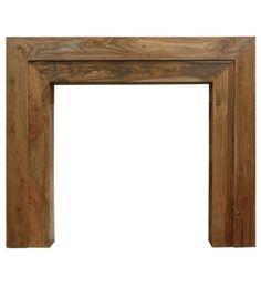 The Vermont Solid Sheesham Mantel, From Carron Fireplaces