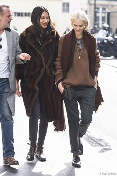 Paris Fashionweek day 4, outside Haider Ackermann, Aymeline Valade