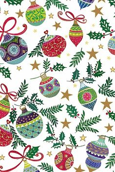 Flatwrap Frederika Green 15 piece(s): Christmas Paper, Vintage Christmas Cards, Christmas Wrapping, Christmas Pictures, Xmas Cards, Christmas Holidays, Christmas Crafts, Merry Christmas, Christmas Decorations