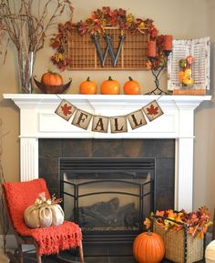 Fall Decor Banner measures 5' long. The perfect size for a fireplace mantle or photo prop!