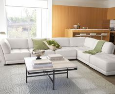 Vice Versa Living Room Furniture Sets & Pieces, Leather Modular - furniture - Macy's