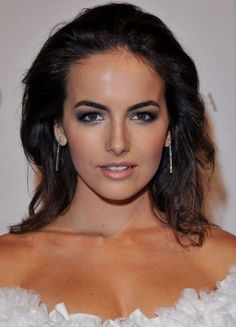 Camilla Bella Hairstyles: Gorgeous Blow-back Hairstyle