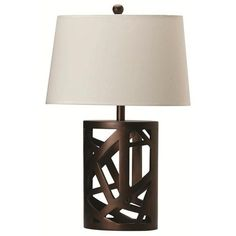 Coaster Home Furnishings 901256 Transitional Lamp BrownWhite *** Want to know more, click on the image.