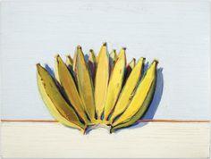 Wayne Thiebaud: Banana Hand 1977