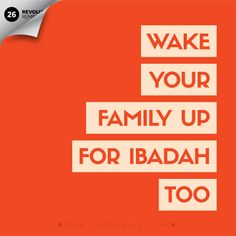 Rasulullah made it a point to wake up his wives throughout these nights! And yes, your children are not too young to stay up some part of the night – if they can be allowed to play video games or watch TV, they can be inspired to be up atleast for sometime! Prepare them, make them excited, plan some activities for them to do! For more visit www. LionofAllah.com