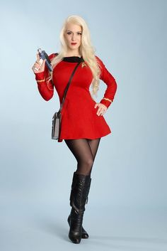Check out the hottest Trek Cosplays! Cosplay Outfits, Cosplay Girls, Sexy Outfits, Cosplay Costumes, Star Trek Crew, Star Trek Uniforms, Star Trek Cosplay, Star Trek Characters, Female Stars