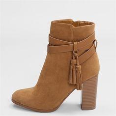 Boots talon carré
