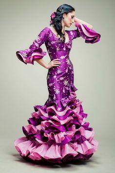 Ana Moreno flamenco dress