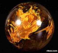 Smelted Quartz Crystal Ball