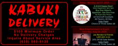 Only at  Kabuki Japanese Steakhouse & Sushi! #KentsDeals