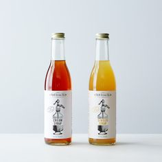 Ginger & Cream Soda Syrups: You've never tasted soda like this. Ginger Syrup, Ginger Beer, Cream Soda, Soda Syrup, House Essentials, Soda Fountain, Fun Drinks, Beverages, Food 52