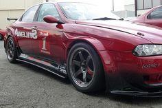CarbonSideExtension for AlfaRomeo156GTA(Racing car)