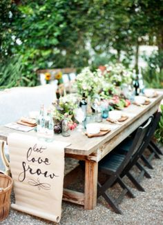 Loving this decor idea for a farm-to-table themed #bridalshower! Learn how to host the perfect one for your bride-to-be! | Awake Photography