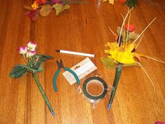 Flower Decorated Pens