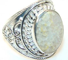 Amazinig Agate Sterling Silver Ring s. 13