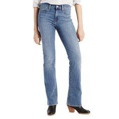 Women's Levi's® Slimming Bootcut Jeans, Size: 16/33 Avg, Dark Blue