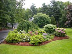 island+flower+bed+ideas | Garden Landscape Design Architecture Natural Beautiful Garden - inkiso ...