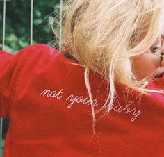 Not your Baby via TheyAllHateUs Glam Rock, Devon, Celine, Heather Chandler, Not Your Baby, Grunge, Look 2017, Quinn Fabray, Red Aesthetic
