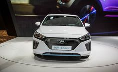 2017 Hyundai Ioniq: Hybrid, Plug-In, or EV - Photo Gallery of Auto Show News from Car and Driver - Car Images - Car and Driver