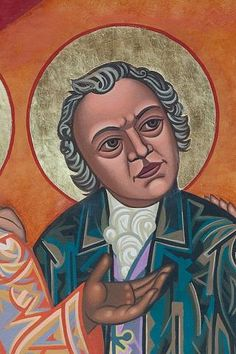 William Blake | All Saints Company. The Dancing Saints Icons project at Saint Gregory Nyssen Episcopal Church, San Francisco is a multi-year installation project supported by All Saints Company, the congregation of Saint Gregory Nyssen Church and many donors and benefactors. The iconographer is Mark Dukes.